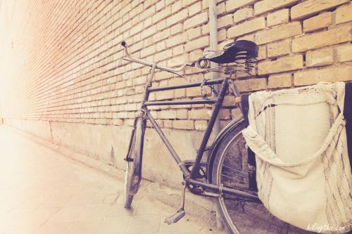 จักรยานส่งของ